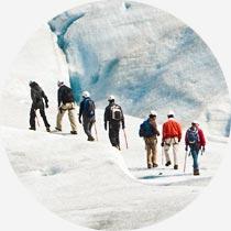 Gletscherwanderung auf Island