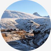 Islandreisen Hochlandresort Kerlingarfjöll Winter