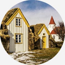 Die Geschichte Islands: Der Museumshof Glaumbær