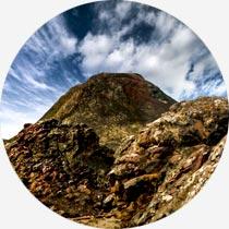 Island Reykjavík-Urlaub Vulkane