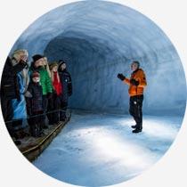 Island Reykjavík-Urlaub Gletschertunnel