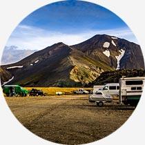 Island Reykjavík-Urlaub Landmannalaugar