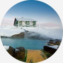 Islandreisen Hveravellir Hochlandhütte