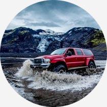 Island Standortreisen Super Jeep