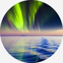 Island Reykjavík-Urlaub Polarlichter Nordlichter