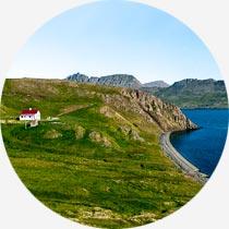 Haus in den Westfjorden