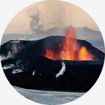 Vulkaneruption auf Island Eyjafjallajökull