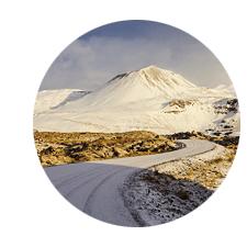 Islandreisen Winter auf Snaefellsnes