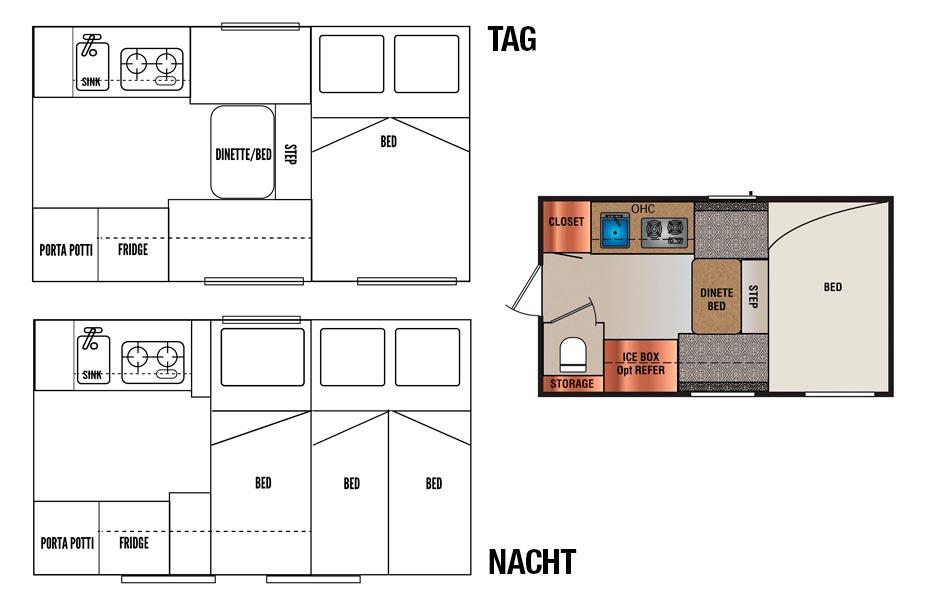 Island Island-Reisen 4x4-Camper Premium Schema