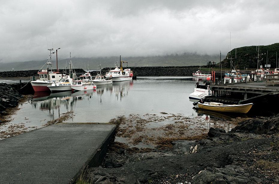 Hafen in Hafnarhólmi bei Bakkagerði