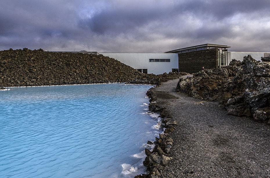 Blaue Lagune Island: Der Eingang