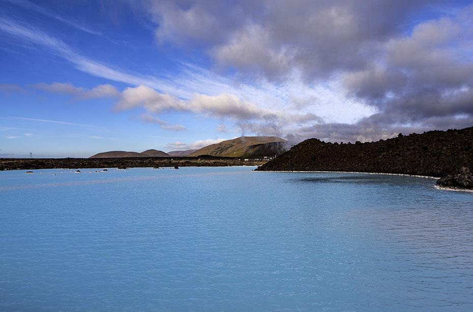 Blaue Lagune Island: Der leuchtend blaue See