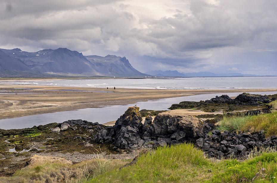 Muschelsandstrand in Búðir