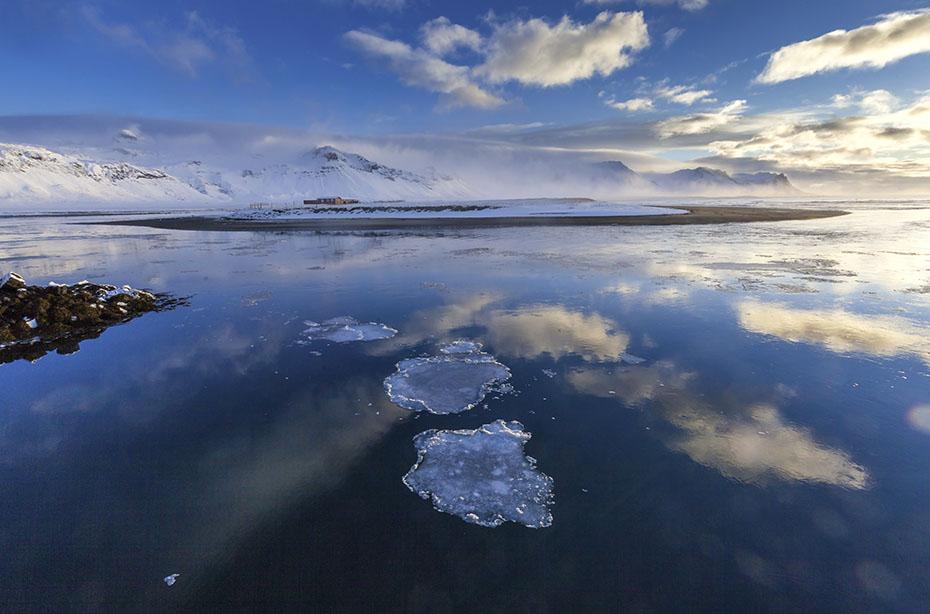 Búðir im Winter