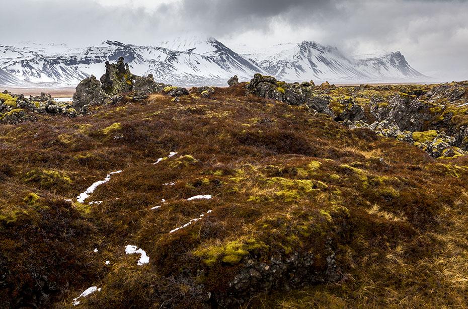 Lavafeld bei Búðir