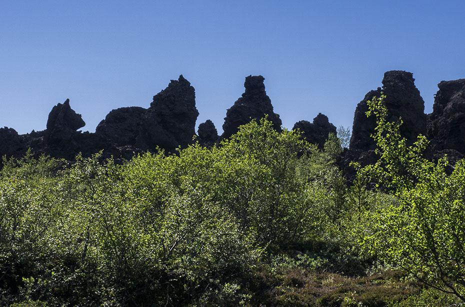 Skyline von Dimmuborgir