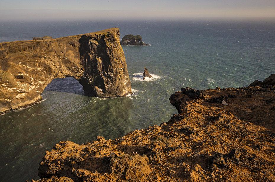 Das Kap Dyrhólaey