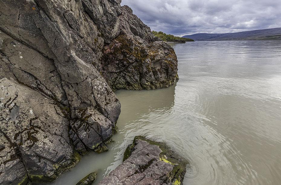 Der See Lögurinn in Egilsstadir