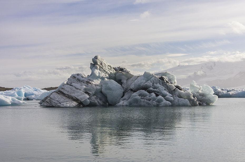 Eisberg auf dem Jökulsárlón