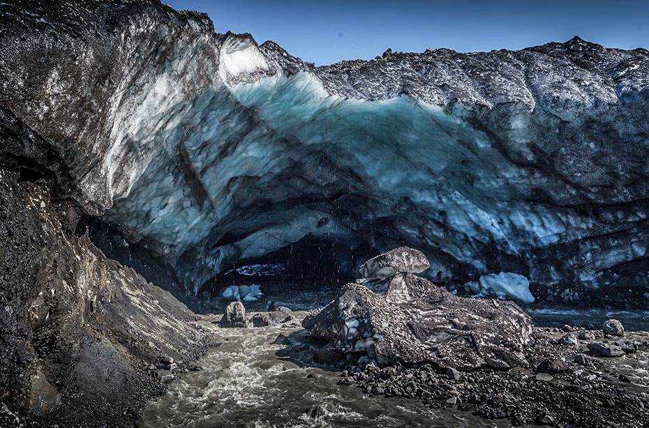 Eishöhle an den Kverkfjöll