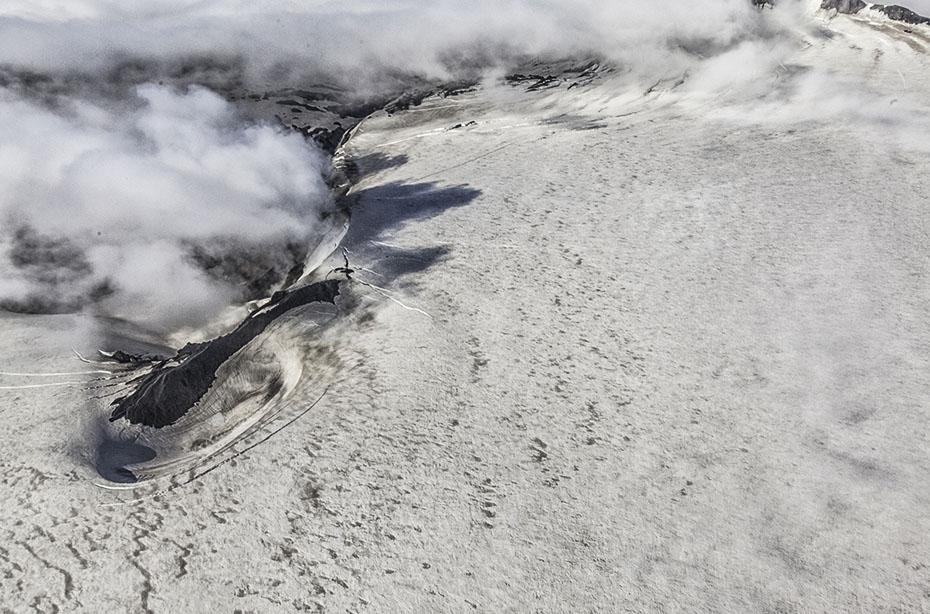 Gipfel des Eyjafjallajökull