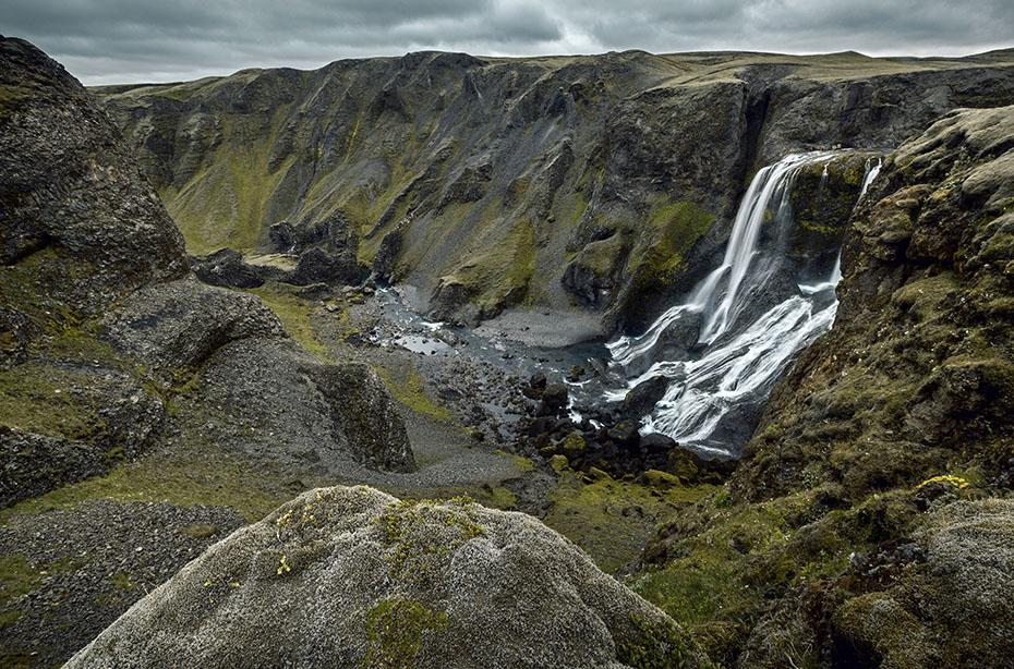Islandreisen Fagrifoss