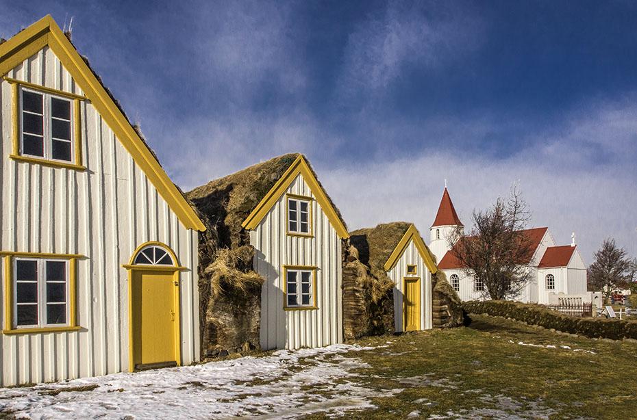 Gebäude in Glaumbær