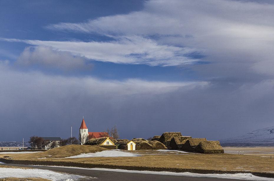 Ansicht von Glaumbær
