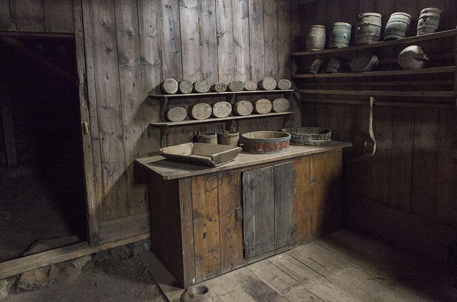 Innenraum im Museum Grenjaðarstaður