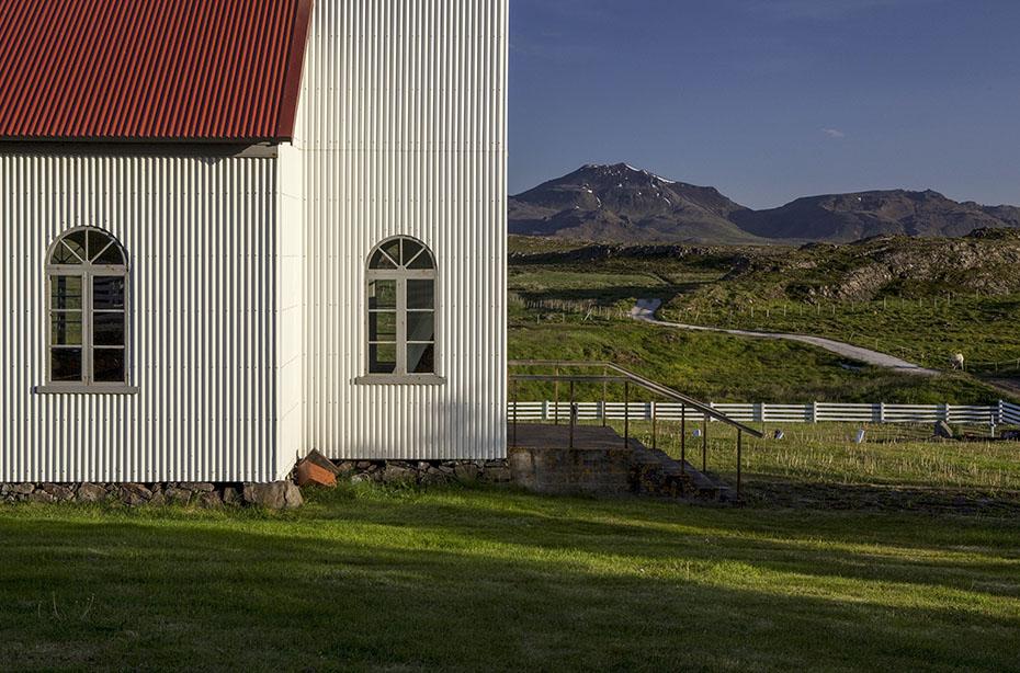 Die Kirche in Helgafell