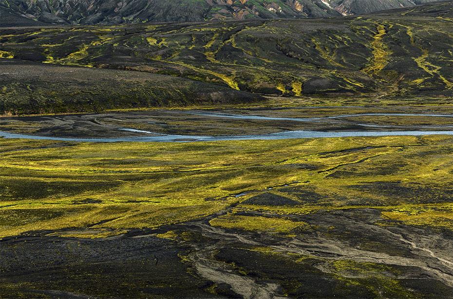 Landschaft von Hrafntinnusker