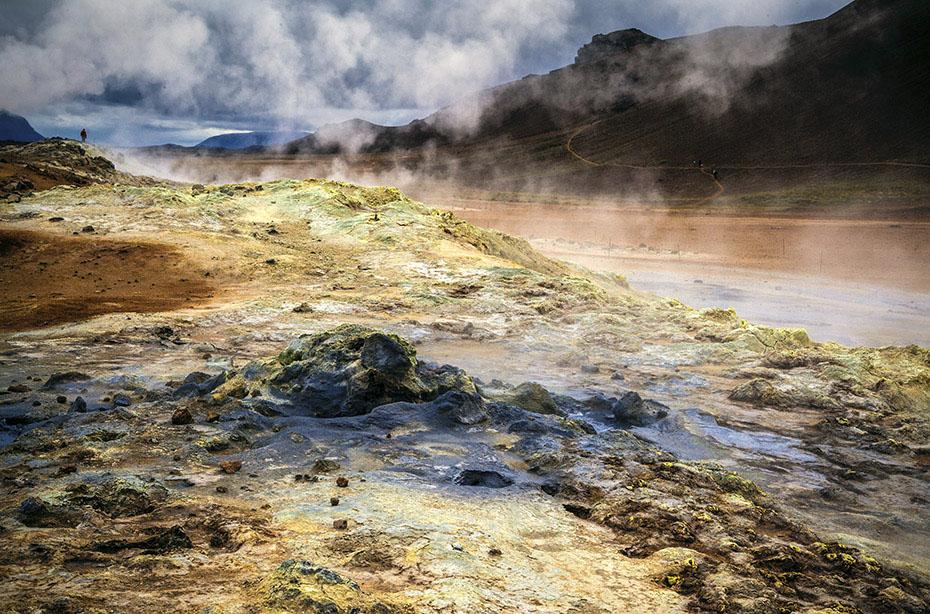 Solfatarenfeld Hverarönð am Námafjall