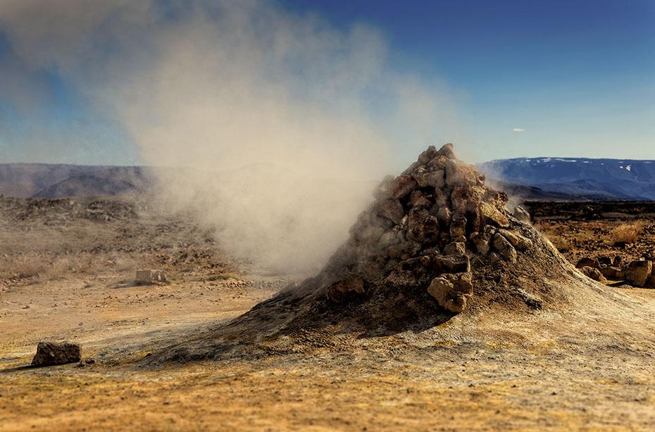 Fumarole in Hverarönð