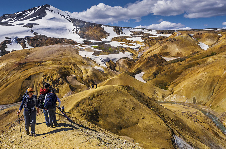 Wanderer in den Kerlingarfjöll