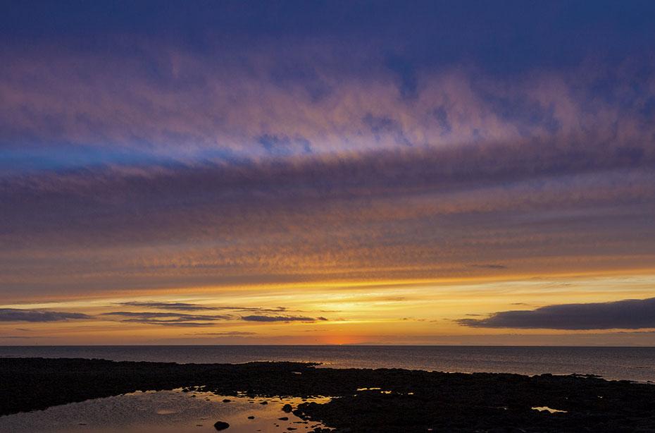 Sommerhimmel über Reykjanes