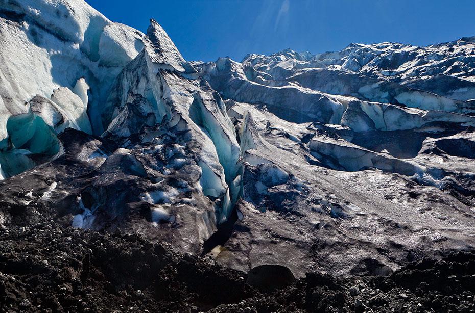 Eisformation am Kverkfjöll-Gletscher