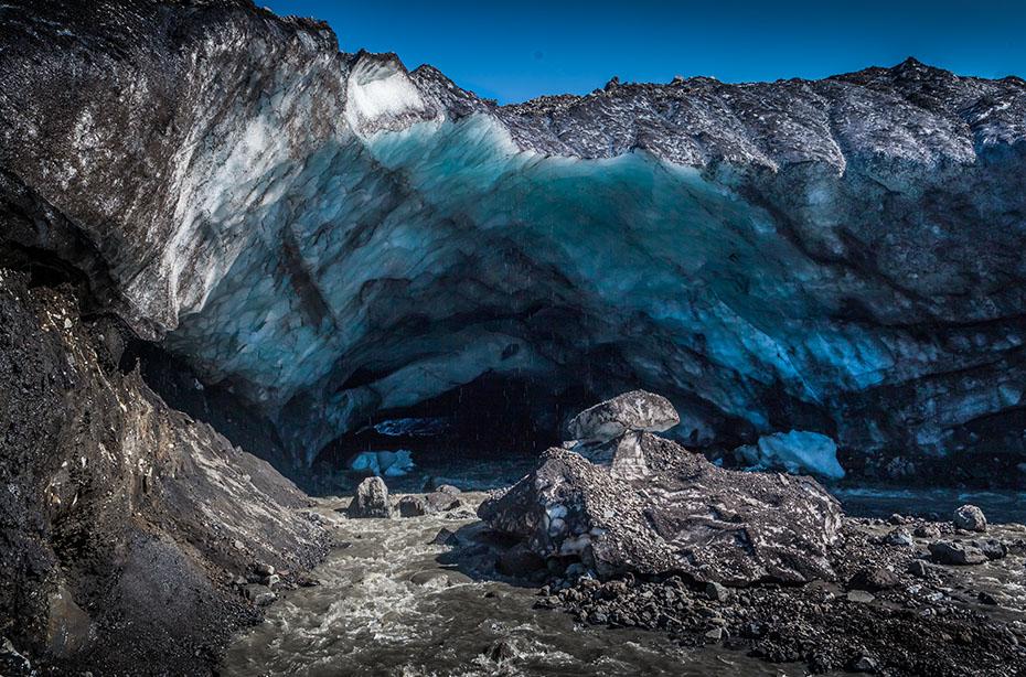 Eishöhle in den Kverkfjöll