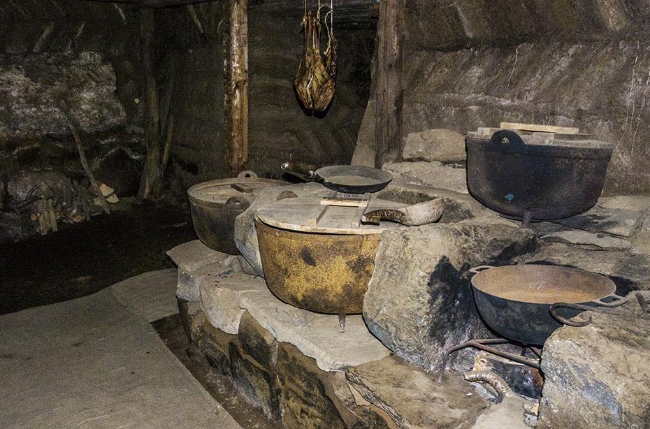 Küche im Museum Laufás