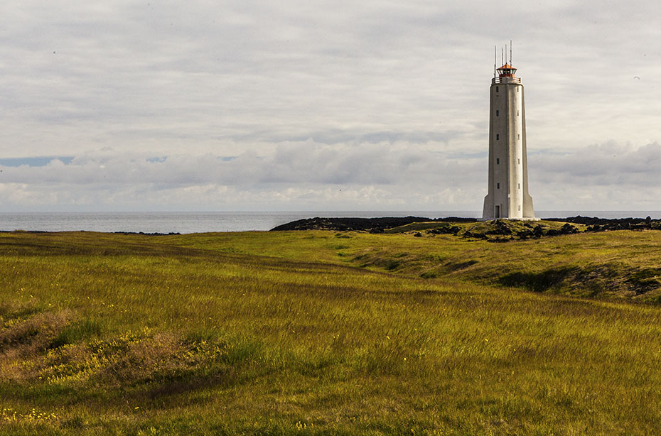 Der Leuchtturm von Malarrif bei Lóndrangar