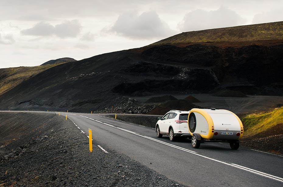Islandreisen Space Camper