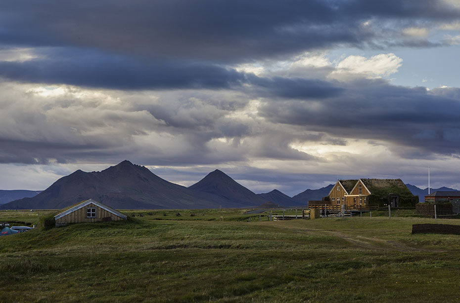 Der Campingplatz von Möðrudalur mit dem Fjallakaffi