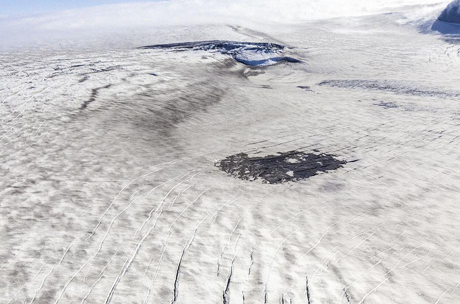 Der Vulkan Katla unter dem Mýrdalsjökull