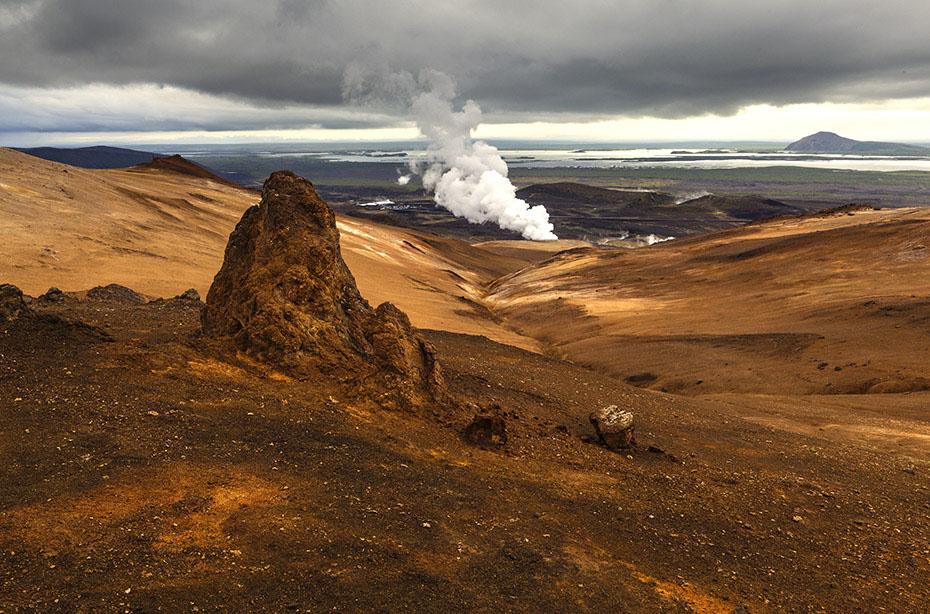 Islands wunderbarer Norden: Námafjall