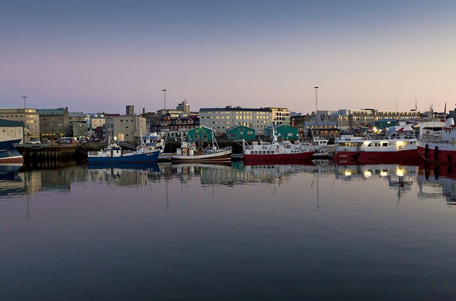 der Hafen von Reykjavík