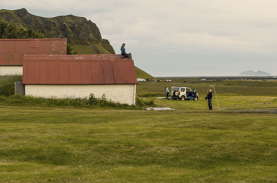 Campingplatz beim Seljalandsfoss