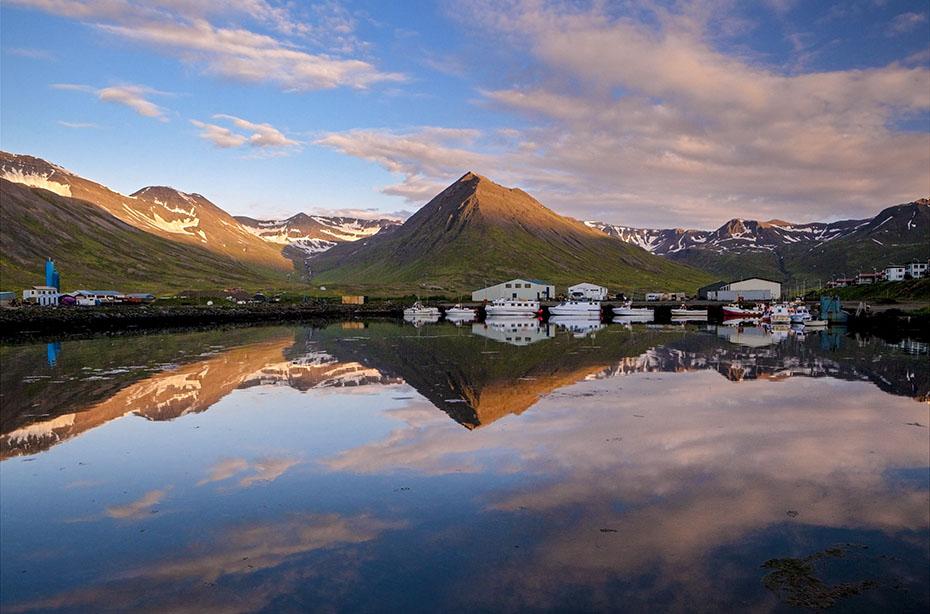 Hafen von Siglufjörður