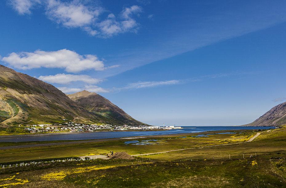 der Fjord Siglufjörður