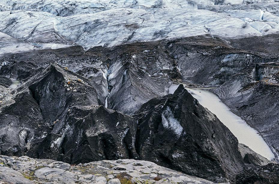 Eismassen des Vatnajökull