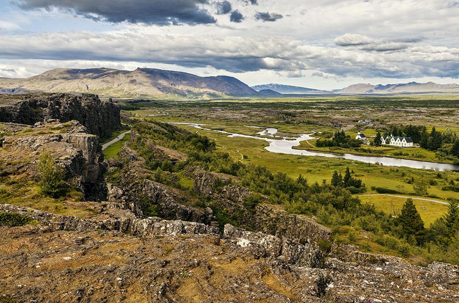 Island Exkursion im Herbst: Þingvellir