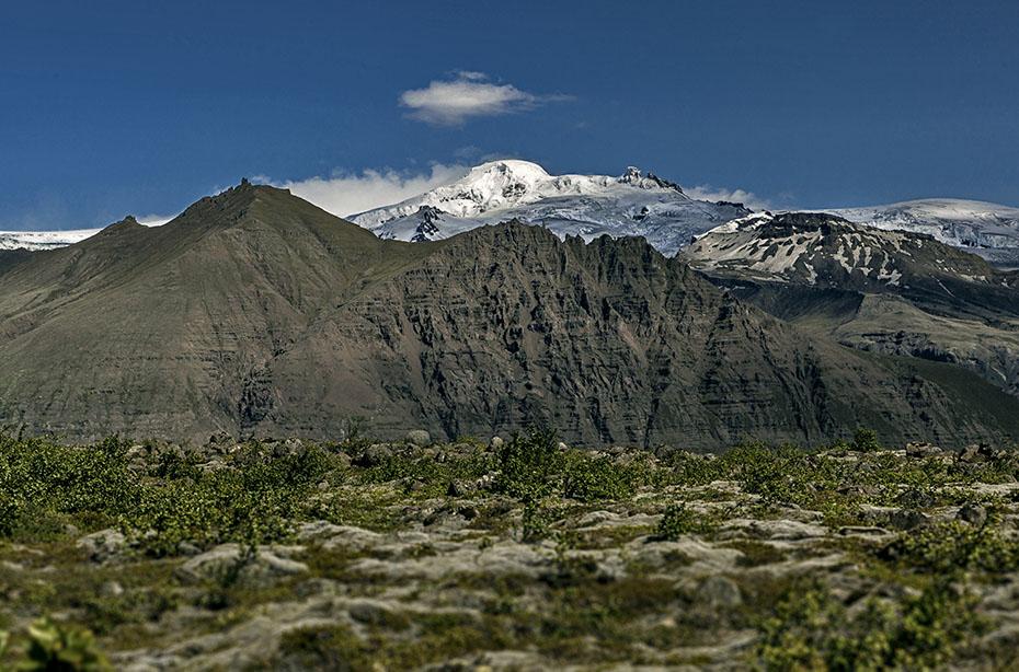 Der Berg Hvannadalshnjúkur im Vatnajökull-Nationalpark
